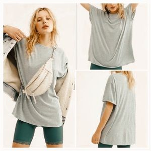 NWT We the free clarity ringer shirt